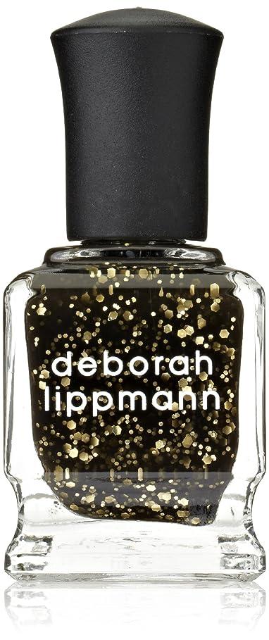 地殻著作権ホップ[Deborah Lippmann] デボラリップマン クレオパトラ イン ニューヨーク CLEOPATRA IN NEW YORK ブラックベースにゴールドのグリッターが輝くカラー。 大小のグリッターが混ざり合い、ゴージャスな爪先を演出します この上なくゴージャス! 大人の雰囲気にピッタリなネイルポリッシュで 容量15mL