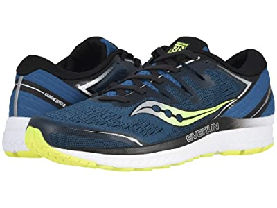 Saucony Guide ISO 2 (Marine/Citron) Men