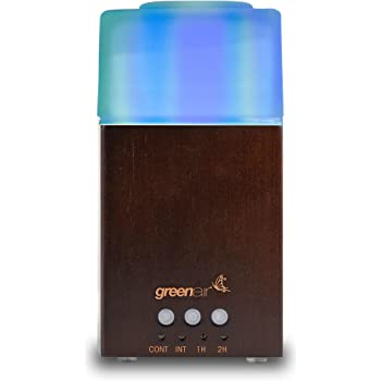 Amazon Com Serene Living By Greenair Breezy Usb Ultrasonic Essential Oil Diffuser With 7 Color Lights For Office Travel Home Dorm Rooms Perfect Gift Hostess Gift Giveway Health Personal Care