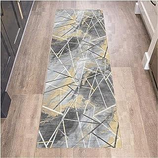 HAIPENG Runner Rug for Hallway Non Slip, 6mm Thich Entrance Mat, Custom Length Floor Carpet for Corridor Kitchen Living Ro...