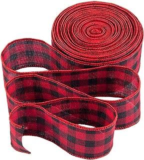 Best red tartan plaid ribbon Reviews