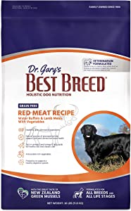 Best Breed Grain Free Red Meat Recipe Made in USA [Natural Dry Dog Food For All Breeds and Sizes]