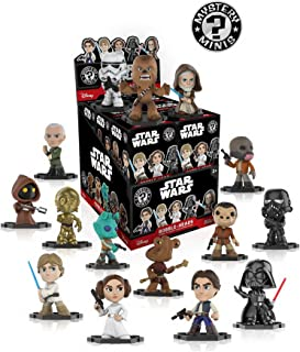 Star Wars Classic Mystery Minis Display Case of 12 Blind Box Bobble Head figures