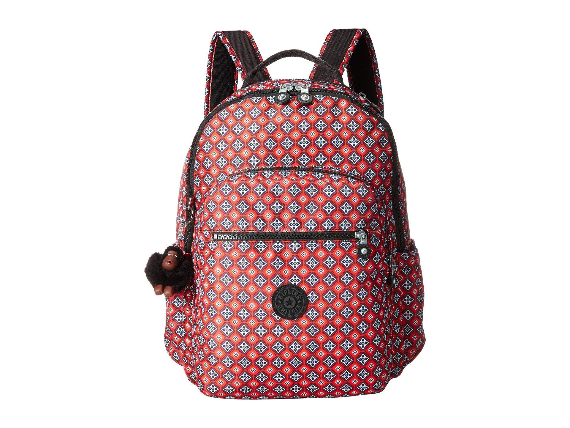 Kipling Backpack Go Seoul Orange Mystical Medallion vU8xpSwq