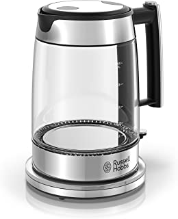 russell hobbs illuminating glass kettle