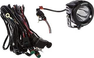 Vision X Lighting 9141251 Optimus Black Round 10W Narrow LED Spot Light - Pair