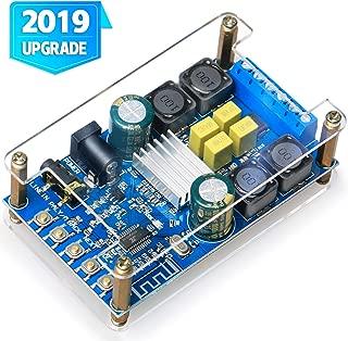 Bluetooth Amplifier Board,DAMGOO Digital Amplifier Bluetooth Wireless Audio Amp Board Headphone 2 Channel 50W+50W Small Amplifier Module with Protective Shell