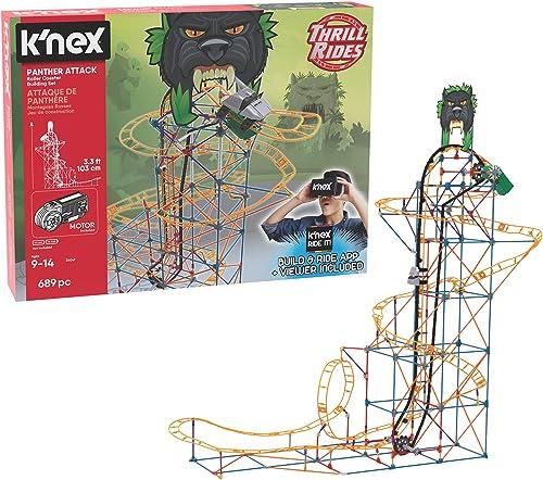 K'NEX -Panther Attack Rollercoaster - Jeu de Construction