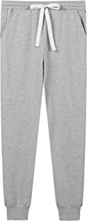 Joyaria Womens Active Yoga Sweatpants Workout Drawstring Jogger Pants with Pockets Sportwear