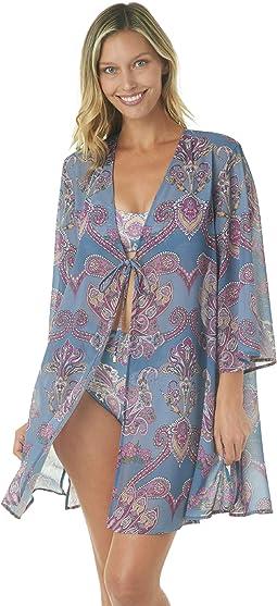 Romantic Getaway Mini Kimono Cover-Up