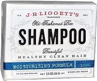 J.R. Liggett's, (2 Pack) Old-Fashioned Bar Shampoo, Moisturizing Formula, 3.5 oz (99 g)