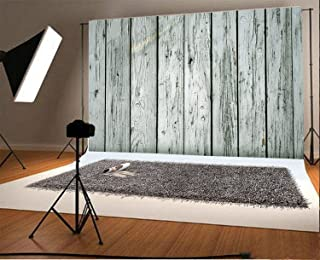 Laeacco ビニール製 薄い背景幕 7x5フィート 写真背景幕 リアルで効果的 白っぽい木板 厚板ノスタルジック パーソナルポートレート (W)2.2 x (H)1.5m ビデオ 写真スタジオの小道具に