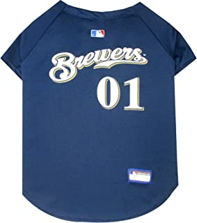 MLB PET Apparel. - Licensed Baseball Jerseys, T-Shirts, Dugout Jackets, CAMO Jerseys, Hoodie Tee's & Pink Jerseys for Dogs & Cats Available in All 30 MLB Teams & 7 Sizes.