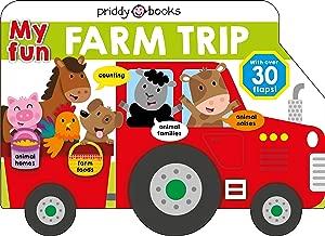My Fun Flap Book: My Fun Farm Trip (Lift-the-Flap Tab Books)