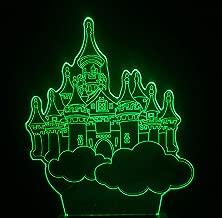 Sky City 3D Night Light Colorful Touch Remote Led Eye Light Usb Lámpara De Mesa Regalo De Navidad