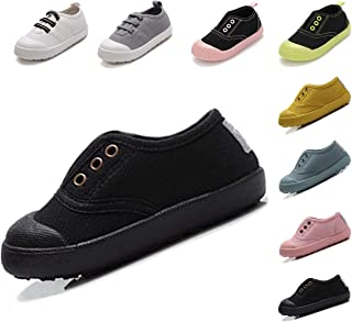 Kikiz Candy Color Kids Toddler Canvas Sneaker Boys Girls Casual Shoes