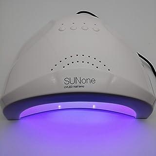 Calwaylecom Secador de uñas 24/48 W UV LED lámpara UV lámpara de secado lámpara UV con 3 ajustes de temporizador, sensor a...