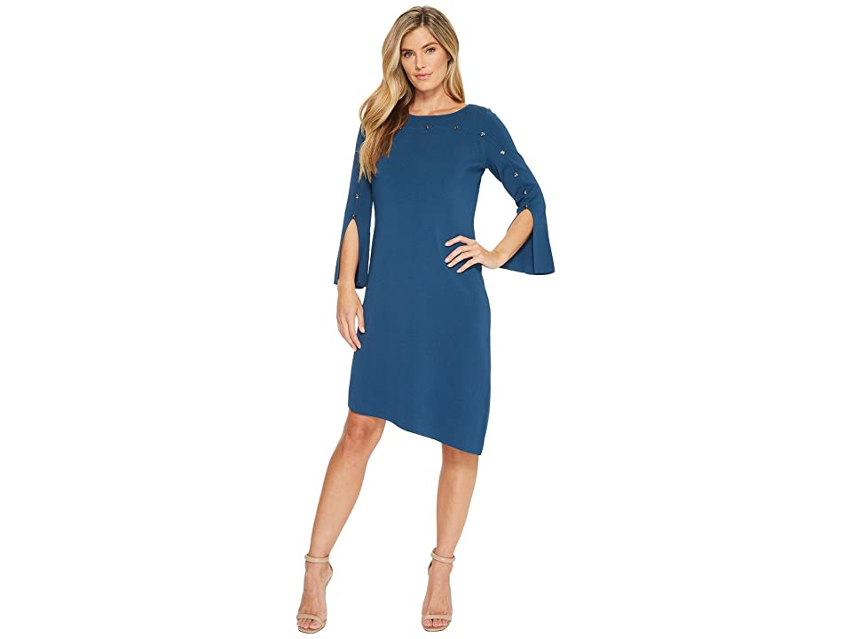 NIC+ZOE Asymmetrical Dress (Mineral) Women