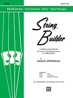 String Builder Violin Book One (Belwin Course for Strings)