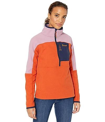Cotopaxi Dorado 1/2 Zip Fleece Jacket (Plum/Cayenne) Women