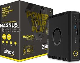 ZOTAC ZBOX-EN51050-U-W2B ZBOX Magnus EN51050 - Personal Computer - Mini PC - 8 GB RAM - 120 GB SSD - 1 TB HDD - NVIDIA Geforce GTX - Black