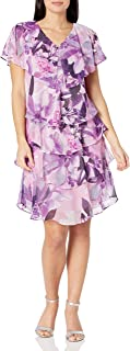 S.L. Fashions womens Pebble Tier Dress Special Occasion Dress