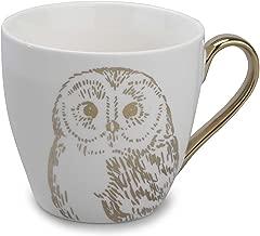 Cambridge CM05035 Kendal Gold Owl Fine China Mug Set of 6