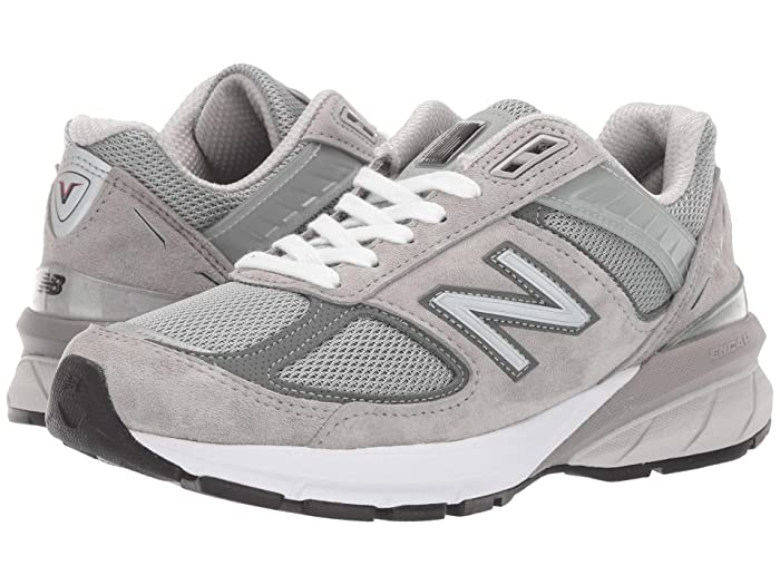 New Balance 990v5 (Grey/Castlerock) Women's Classic Shoes