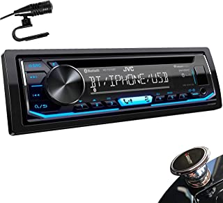 $109 » JVC KD-TD70BT 1-Din CD Receiver Featuring Bluetooth/USB/Pandora/iHeartRadio/Spotify/FLAC/13-Band EQ + MAGNET