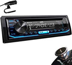 JVC KD-TD70BT 1-Din CD Receiver Featuring Bluetooth/USB/Pandora/iHeartRadio/Spotify/FLAC/13-Band EQ + MAGNET