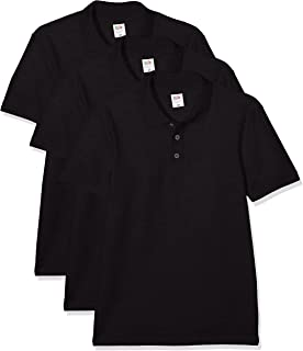 Fruit of the Loom Men's Polo Shirt (Pack of 3)
