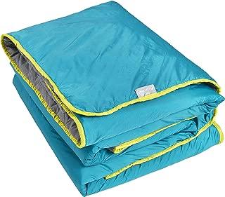 Lightspeed Outdoors Sundown Camp Blanket, Nylon Ripstop, Fluffy Down Alternative, Packable, 77