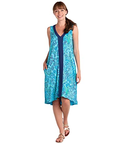 Fresh Produce Tropic Gardens Sabrina Dress (Bluefin) Women