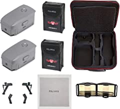 $319 » 2X DJI Mavic 2 Intelligent Flight Batteries 3850mAh Replacement for Mavic 2 Pro or Mavic 2 Zoom Drone Quadcopter, Accessories Bundle, with Professional Hard Case, Landing Gear and More