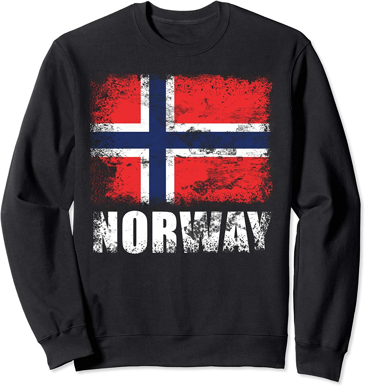 Norway Flag Sweatshirt Norwegian Flag Sweater
