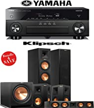 Yamaha AVENTAGE RX-A860BL 7.2 Channel Network AV Receiver + Klipsch RP-260F + Klipsch RP-250S + Klipsch RP-440C + Klipsch R-112SW - 5.1 Reference Premiere Home Theater Package