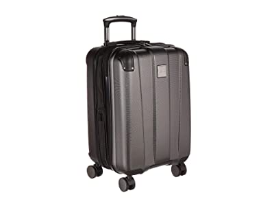Kenneth Cole Reaction 20 Continuum Lightweight Hardside Expandable 8-Wheel Spinner Carry-On Luggage (Charcoal) Luggage