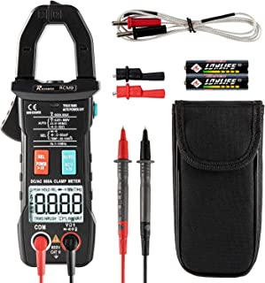 Clamp Multimeter Clamp Meter Current Resistance Tester High Precision Clamping Battery Tester for Outdoor for Oil Fields for Grounding Resistance