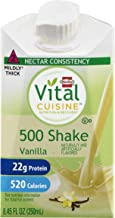 Vital Cuisine 500 Shake Vanilla, Case of 27