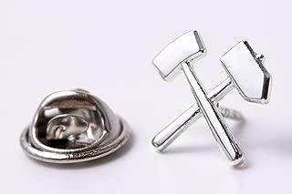 St/ück 10 Zunftbedarfde Pin Anstecker Fl/ügelrad silberf