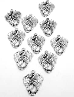 Best pewter dragon charms Reviews