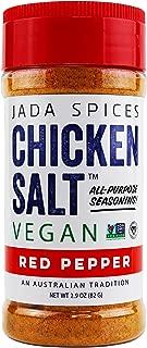 Chicken Salt - Vegan, Non-GMO, NO MSG, Gluten Free, Australia's #1 All-Purpose Seasoning, 2.9 oz … (Red Pepper)