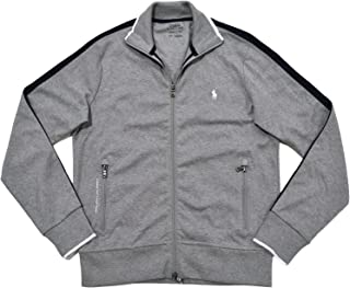 Mens Full-Zip Athletic Performance Track Jacket