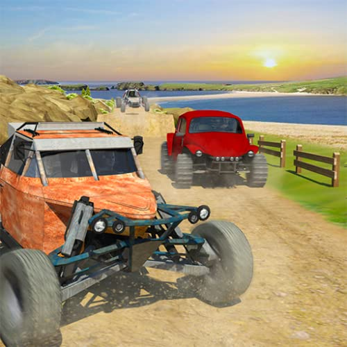 Fora da estrada Buggy de dunas Corridas de carros Bandidos 2018 trilha de sujeira Jogos livre para Crianças