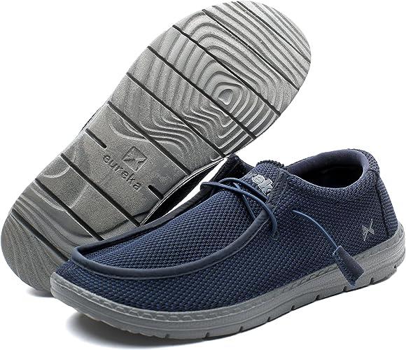 Eureka Mens Traveler Slip On Shoes