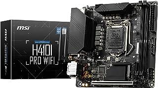 MSI H410I Pro WiFi (Mini-ITX, LGA1200, H410, M.2 Port, PCIe 3.0 x 4, NVMe)