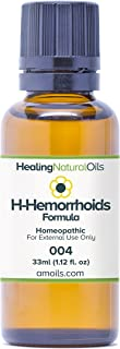 H-Hemorrhoids Formula 33ml - Natural Alternative Hemorrhoid Treatment for Internal, External or Thrombosed. Reduce Swellin...