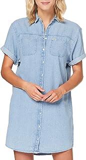 Wrangler Denim Shirt Dress Vestito Donna