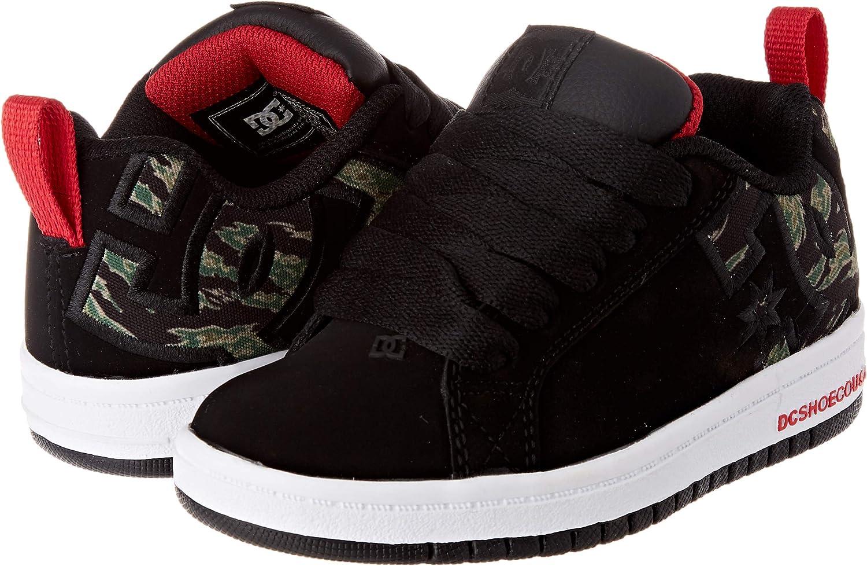 DC Shoes Mens Court Graffik Skateboarding Shoes