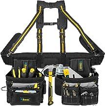 Gereedschapsgordel-bretels, gereedschapsvest, ultra slijtagegereedschapsriem, 20-Pocket Pro Framer-combi-schort-gereedscha...